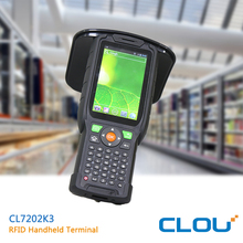 Bluetooth 4.0 rugged android handheld reader for warehouse manage