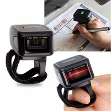 YHDAA new designed 1D bar code 2d wearable ring barcode scanner bluetooth
