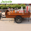 Hot sale For CE proved Steet dining car coffee bike restaurant car