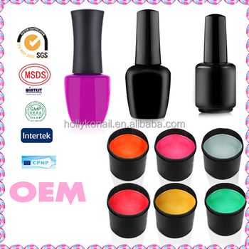 Hot Professional Sale Color Uv Gel Long Lasting Led Color Gel Nail Polish