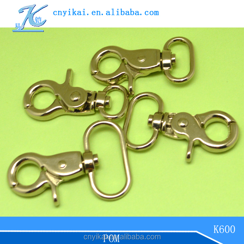 metal accessories for bags trigger swivel snap hook swivel hook dog leash snap hook
