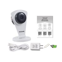 Sricam SP009C promotion H.264 Mini wifi wireless IP camera P2P 3g network 128GB record 60 days surveillance