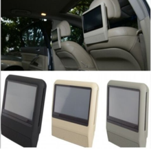 "9"" touch screen DVD car monitor headrest, headrest car dvd player"