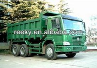 ventral lift 336hp and HW70 cab no berth Howo 6x4 dump truck with CE