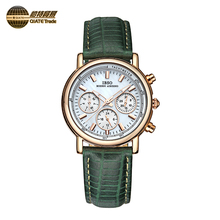 Custom Women Stainless Steel Waterproof Quartz Wrist Watch