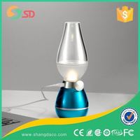 Shangda 2016 Foldable and Portable LED Table Lamp fit for reading and travelling with alarm and Calendar