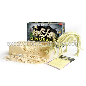 Discover Plastic Dinosaur Dig It Out Excavation Toys, 5 assorted