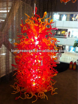 2015 Artificial Light Up Murano Glass Christmas Tree