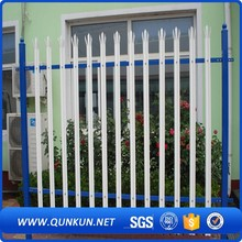 Greater Strength 'W' Section Profile Steel Palisade Fencing For Garden Fence For Zoo