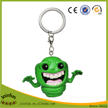 custom make PVC figure keyring key chain clip-on 2.5""