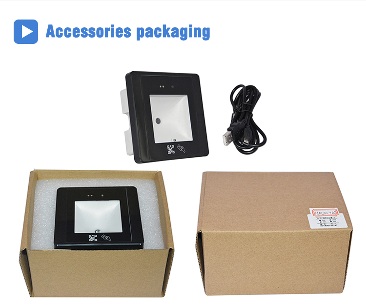ID IC Card Key Lock QR Code Door Access Control HM20