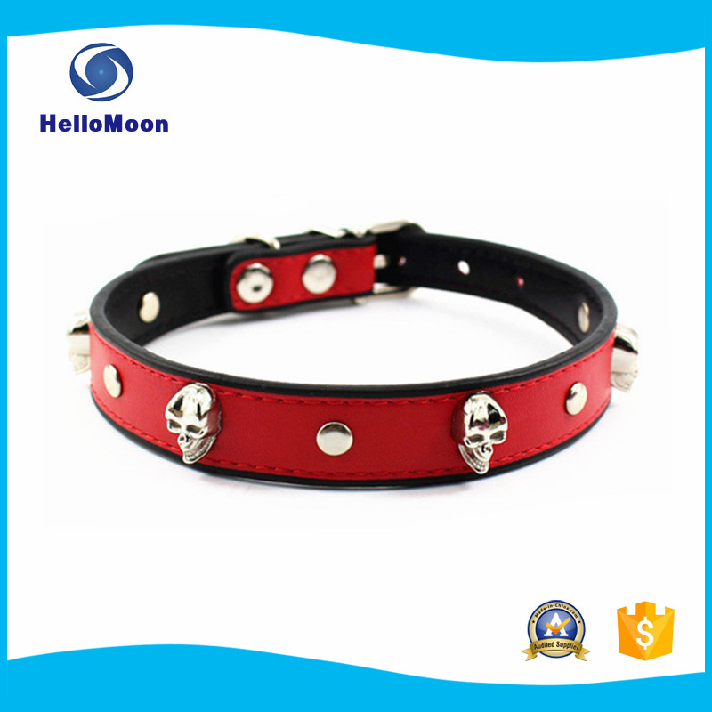 Fashion Collar With Skull Wholesale Pet Accessories From China