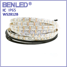 Smart 5050 WS 2812B WS2812 Pixel Waterproof 5V Digital Full Color RGB 60LEDs 144 Leds Flexible LED WS2812B IC Strip Tape
