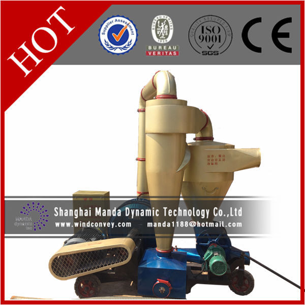 Factory price loading or unloading into truck pneumatic resins vacuum conveyor pump for rice husk transport