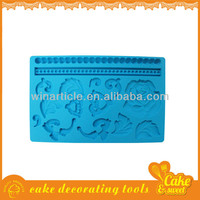 Silicone Fondant Lace Molds for Cake Decoration