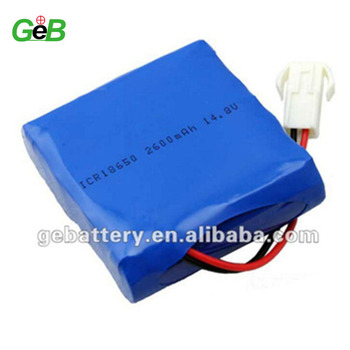 14.8V2600mAh Li-Ion Battery Pack - With Protection IC