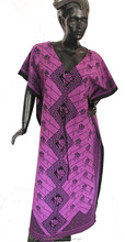 CHEAP BEAUTIFUL DUBAI KAFTANS / FASHION WEAR KAFTANS ROBES KIMONO IN COTTON PRINTED FABRIC IN INDIA