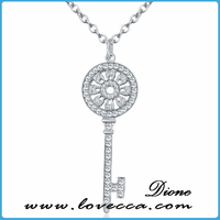 Europe popular hot sale famale simple style 925 sun silver pendant jewelry