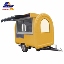 New deisgn french fries food truck/fry ice cream roll cart/cart ice cream cart