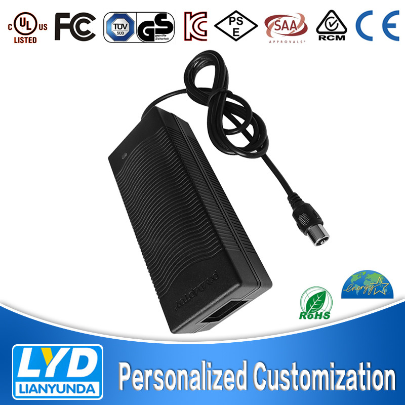 AC to DC adapter 29.4v 3.4a 100w Electric Bike Battery Charger