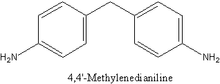 4,4'-Methylenedianiline;MDA;CAS:101-77-9;99%;white crystal;C13H14N2