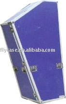 2015 new design purple music instrument case with wheels and safe locks ,instrument carry case