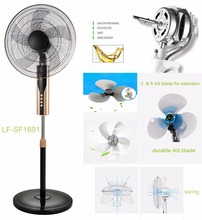 Made in China air cooling hot selling electric 16 inch pedestal stand fan