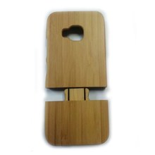 FL3566 For HTC one M9 Bamboo wood cover back hard case Wholesale price
