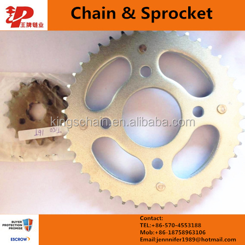 Pakistan chain wheel/sprocket CD70 41/14T for motorcycle