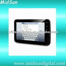 "7"" tablet pc sim card built in 3G android 4.0 capacitive touch with WIFI/GPS/Bluetooth"