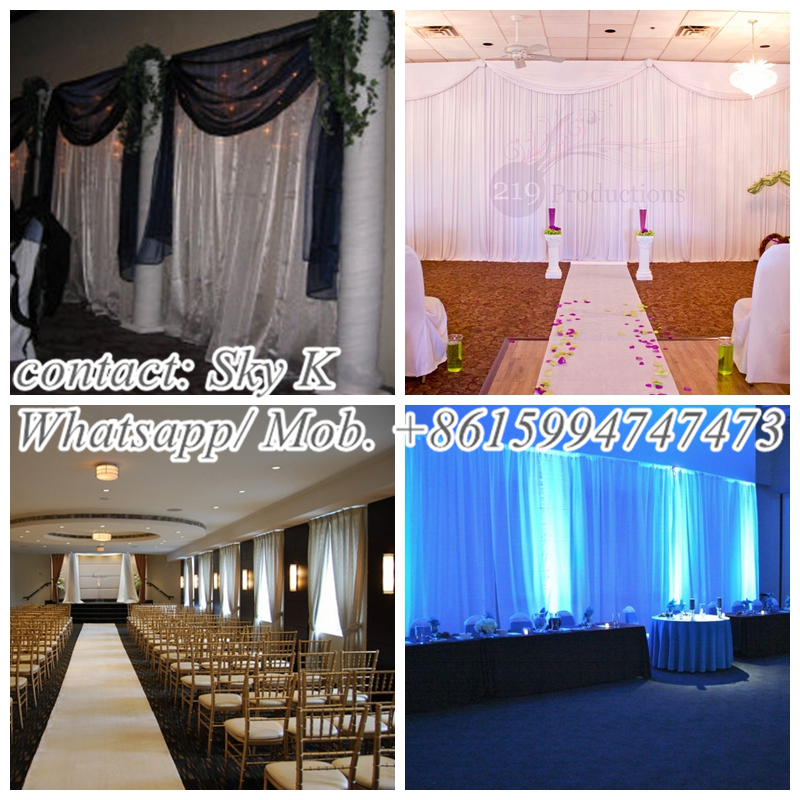 how to sew drapes backdrop king