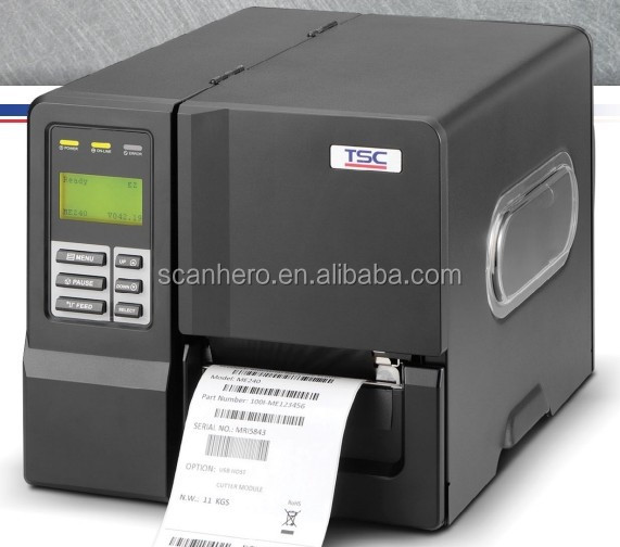 TSC ME240 ME340 series Industrial Thermal Transfer Bar Code Printer