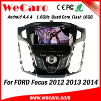 Wecaro WC-FF7305 Android 4.4.4 car dvd HD for ford focus dvd radio 2012 2013 2014 bluetooth