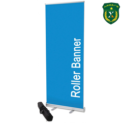 Retractable custom design advertising aluminum roll up banner stand