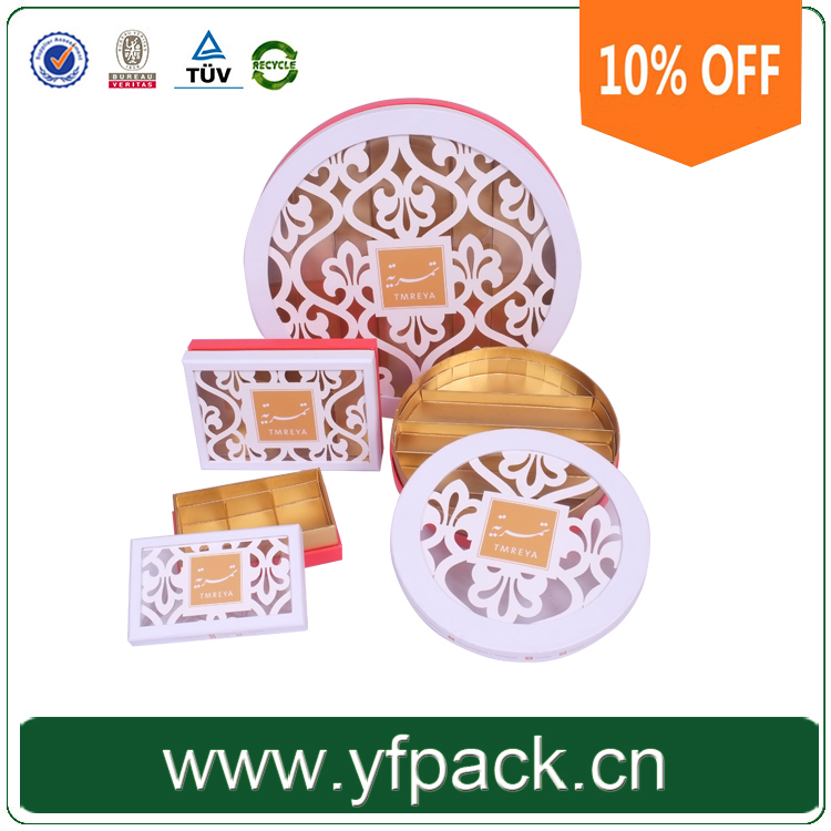 Yifeng 10% Off Price Free Sample Chocolates Paper Packing Customize Paper Packaging Candy Boxes