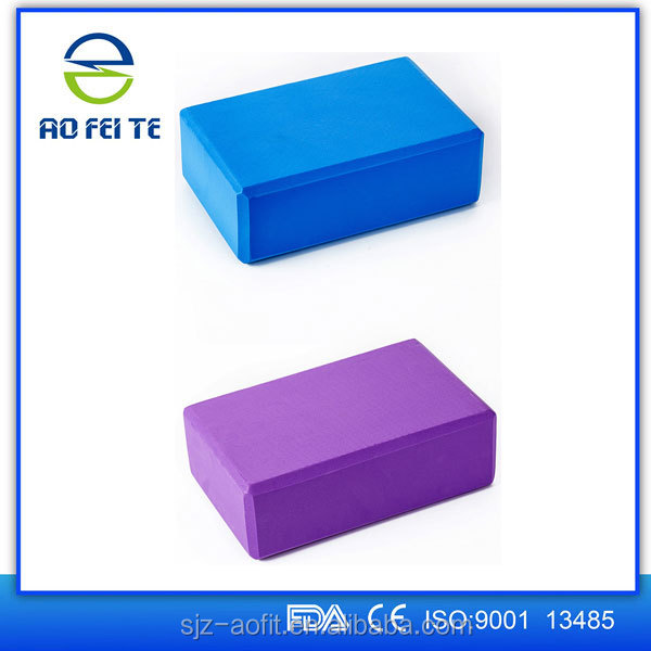 High Density EVA Yoga Blocks For Easy Pilates