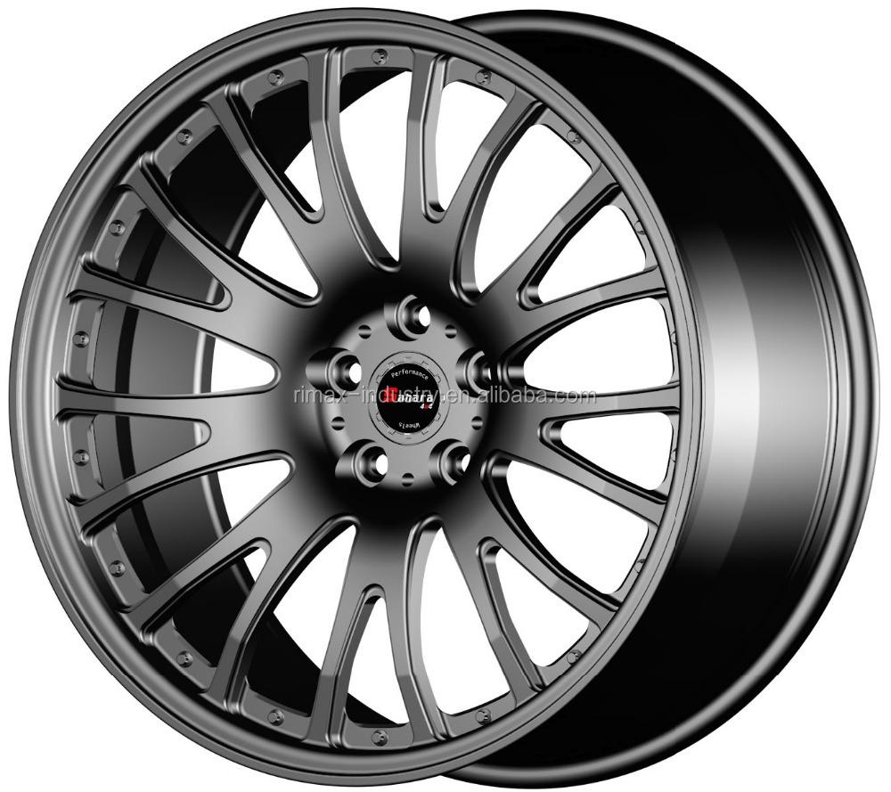 Automobile aluminum replica car alloy forged wheel rims