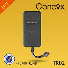 Mini GPS tracker no battery Concox TR02 with 80% market share in global vehicle anti-theft market segment