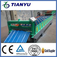 soffit panel corrugated sheet metal roofing roll forming machine Low price