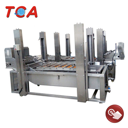 CE approved electric type fruit and vegetable washing/cleaning/drying machine production line