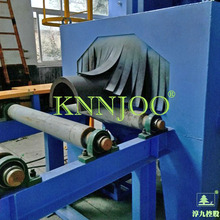 Steel Beam Rollers Conveying Shot Blasting Machine/Wheel Blasting Machine