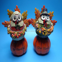 Harvest festival products resin turkey statue