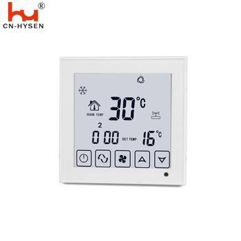 LCD Digital Central Air Conditioner Room Cooling Thermostat