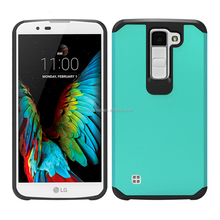 Wholesale hybrid tpu pc armor combo cell phone case for LG K8