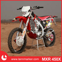 Racing motorcycle 450cc