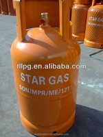 12.5KGS Lpg Gas Cylinder with Vavle for Nigeria