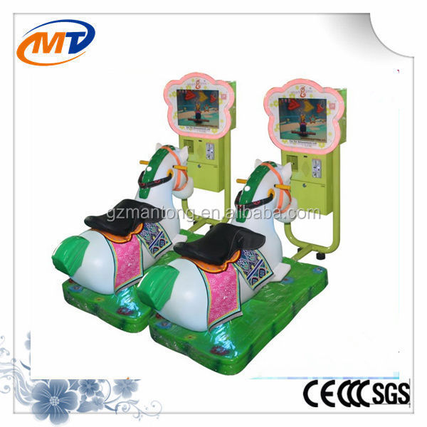 Crazy horse kiddie ride game machine racing game machine for sale
