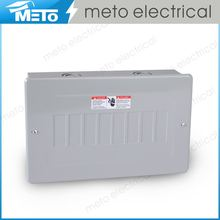 MTE2, Electrical Economy Series with Power 120/240V Modern Design Distribution Square d Outdoor Load Center 100amp Panel Box