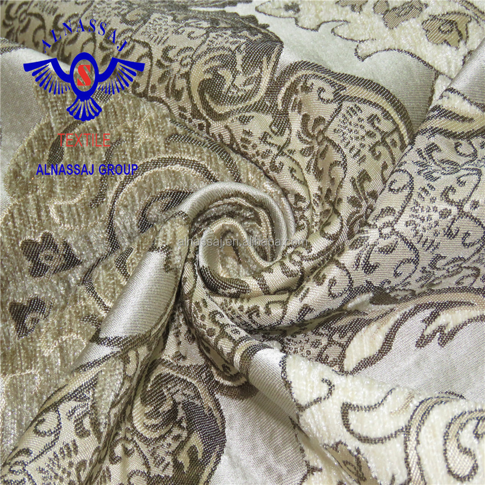 polyester viscose sofa fabric / environment-friendly furniture fabric