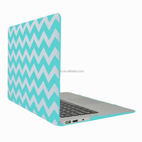"For Apple Macbook, Chevron Pattern Rubberized Hard Case Cover for Macbook Pro 15"" with/without Retina Display"